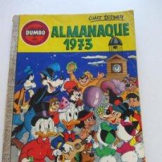 Tebeos: DUMBO. Nº 95 ALMANAQUE 1973 WALT DISNEY ERSA SDX19. Lote 166632002