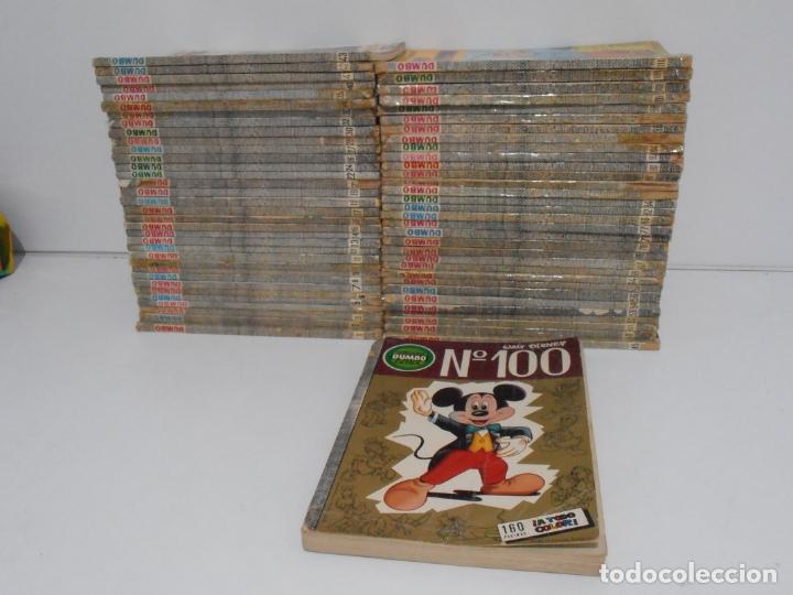 LOTE 66 NUMEROS TEBEOS DUMBO ERSA, WALT DISNEY, AÑOS 70 (Tebeos y Comics - Ersa)