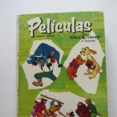 Tebeos: PELICULAS WALT DISNEY SEXTO 6 VI TOMO - COLECCION JOVIAL ERSA CS177. Lote 169017340