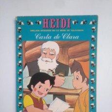 Tebeos: HEIDI Nº 10. CARTA DE CLARA. TDKC43. Lote 169407112