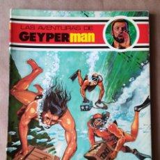 Livros de Banda Desenhada: 10 COMICS LAS AVENTURAS DE GEYPERMAN Nº 1-2-3-4-5-6-7-8-11-13 - ERSA. Lote 170065448