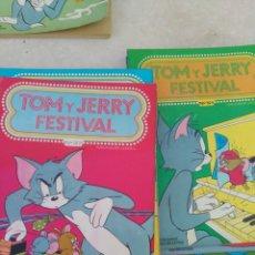 Tebeos: LOTE 16 CÓMICS TOM Y JERRY FESTIVAL EDICIONES RECREATIVAS S.A. AÑO 1980. Lote 171619260