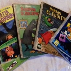 Tebeos: COMIC DUMBO ERSA LOTE 4 COMICS DE BORRON EL ENCAPUCHADO,12 25 30 Y 101. Lote 173101337