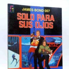 Giornalini: CINE COMIC 1. JAMES BOND 007 SOLO PARA TUS OJOS. ERSA, 1981. OFRT. Lote 251031605