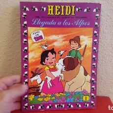 Tebeos: LIBRO TOMO COMIC TEBEO HEIDI ERSA LLEGADA A LOS ALPES Nº 1 1987 EDICIONES RECREATIVAS. Lote 173990125