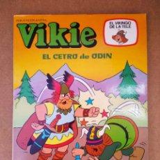 Tebeos: VIKIE EL VIKINGO DE LA TELE N°68: EL CETRO DE ODÍN (EDICIONES RECREATIVAS, 1983).. Lote 174096160