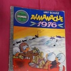 Tebeos: DUMBO . Nº 132. ALMANAQUE 1976. EDICIONES RECREATIVAS. 1975. Lote 174193093