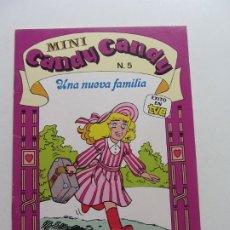 Giornalini: MINI CANDY CANDY Nº 5 UNA NUEVA FAMILIA, 1984, EDICIONES RECREATIVAS, BUEN ESTADO CX20. Lote 174376290