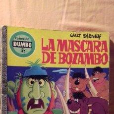 Tebeos: COMIC DISNEY DUMBO ERSA 142 LA MASCARA DE BOZAMBO. Lote 174578938