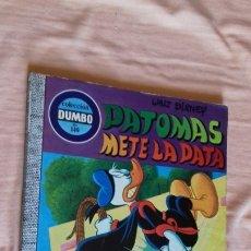 Tebeos: COMIC DISNEY DUMBO ERSA 140 PATOMAS METE LA PATA MUY BUEN ESTADO. Lote 175366855