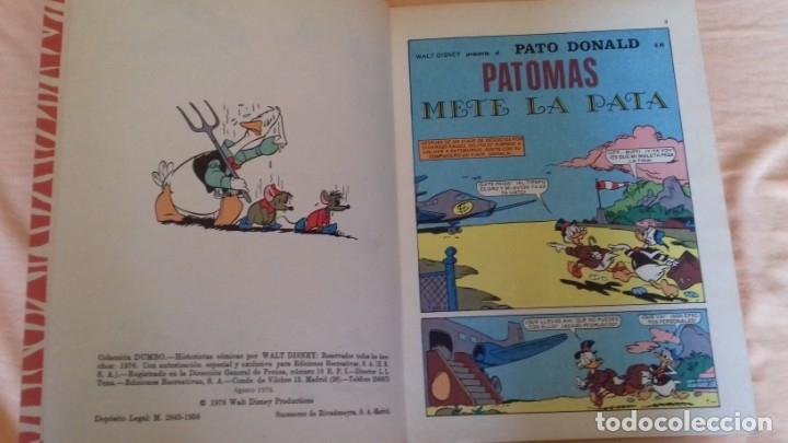 Tebeos: COMIC DISNEY DUMBO ERSA 140 PATOMAS METE LA PATA MUY BUEN ESTADO - Foto 3 - 175366855