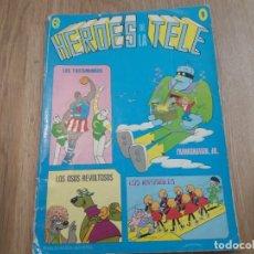 Tebeos: HERÓES DE LA TELE. ERSA. N° 9. 1978. LOS TROTAMUNDOS, ETC.... Lote 175673708