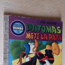 Tebeos: COMIC DUMBO ERSA DISNEY 140 PATOMAS METE LA PATA. Lote 176558280