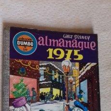 Tebeos: COMIC DUMBO ERSA DISNEY 119 ALMANAQUE 1975 EN BUEN ESTADO. Lote 176604750
