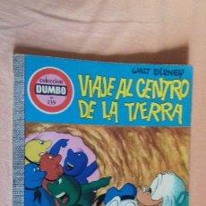 Tebeos: COMIC DUMBO ERSA DISNEY 139 VIAJE AL CENTRO DE LA TIERRA. Lote 176606930