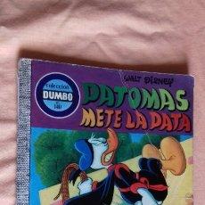 Tebeos: COMIC DUMBO ERSA DISNEY 140 PATOMAS METE LA PATA. Lote 176772247
