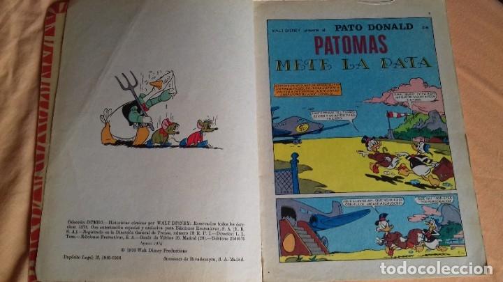 Tebeos: COMIC DUMBO ERSA DISNEY 140 PATOMAS METE LA PATA - Foto 2 - 176772247