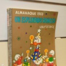 BDs: COLECCION DUMBO Nº 46 UN ESPLENDIDO ROÑOSO - ALMANAQUE 1969 - ERSA. Lote 177635692