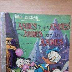 Tebeos: COMIC DUMBO ERSA DISNEY 7 ANDES LO QUE ANDES NO ANDES POR LOS ANDES. Lote 179148263