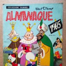 Tebeos: COLECCIÓN DUMBO: ALMANAQUE 1965 / WALT DISNEY (ERSA, 1964).. Lote 179955186