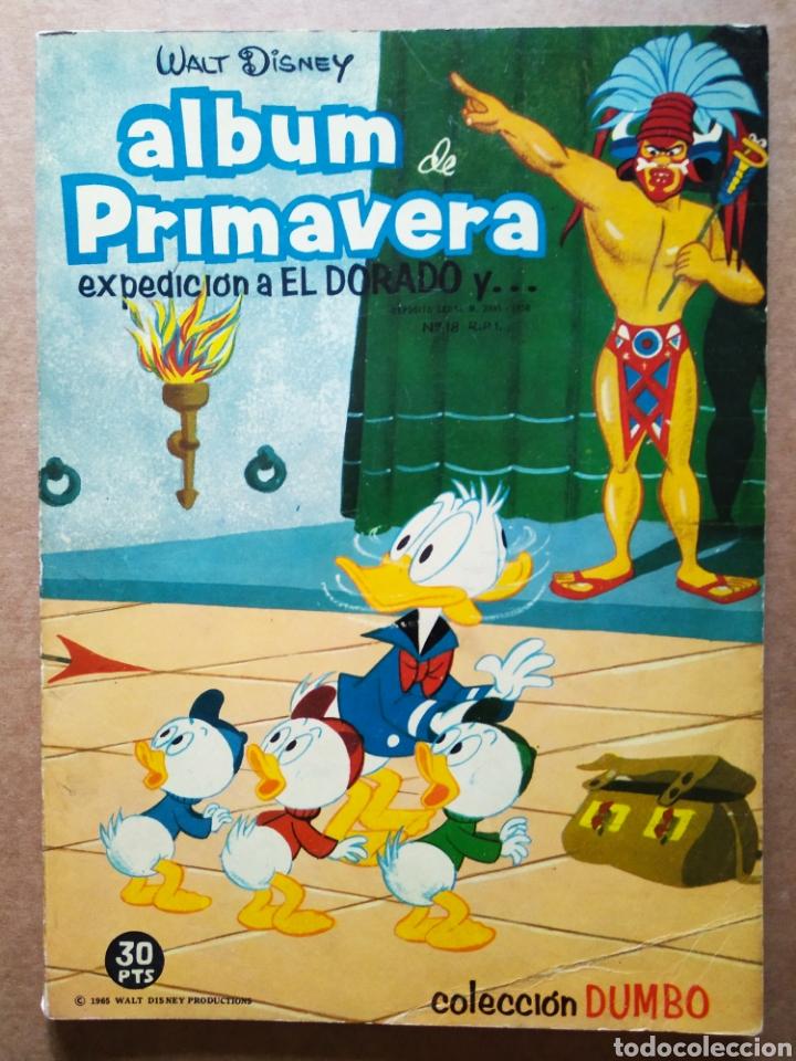 COLECCIÓN DUMBO: ÁLBUM DE PRIMAVERA / WALT DISNEY (ERSA, 1965). (Tebeos y Comics - Ersa)