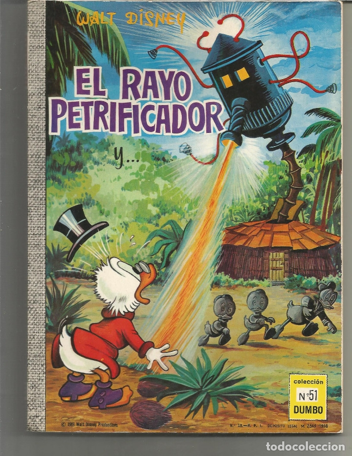 DUMBO EDICIONES RECREATIVAS Nº 51 (Tebeos y Comics - Ersa)
