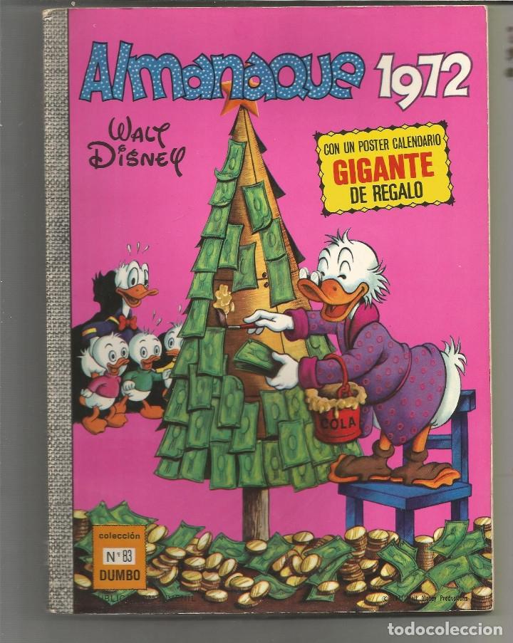 DUMBO EDICIONES RECREATIVAS Nº 83 ALMANAQUE 1972 (Tebeos y Comics - Ersa)