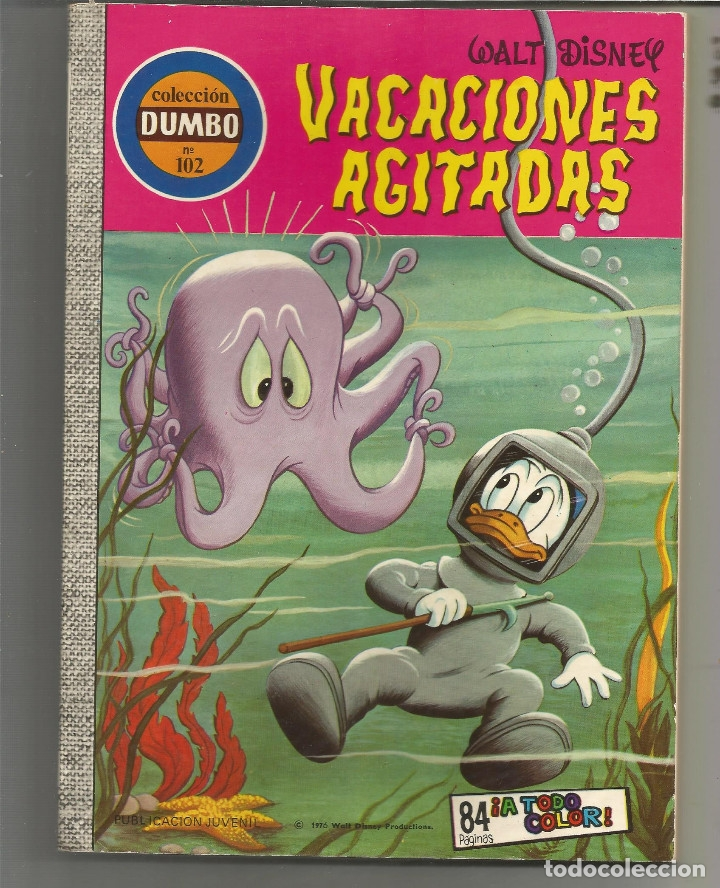 DUMBO EDICIONES RECREATIVAS Nº 102 (Tebeos y Comics - Ersa)
