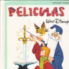 Tebeos: PELICULAS WALT DISNEY - TERCER TOMO 3 III - COLECCION JOVIAL - EDICIONES RECREATIVAS (ERSA) 1989.. Lote 181005158