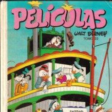 Tebeos: PELICULAS WALT DISNEY - TOMO 22 - COLECCIÓN JOVIAL - EDICIONES RECREATIVAS (ERSA), 1982.. Lote 181012290