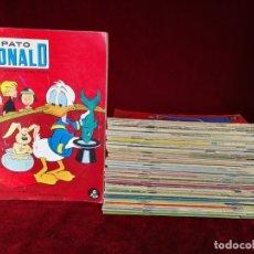Livros de Banda Desenhada: LOTE 52 NÚMEROS PATO DONALD REVISTA SEMANAL PARA TODOS ERSA. Lote 182271122