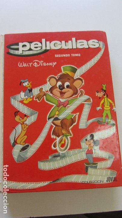 PELÍCULAS SEGUNDO TOMO Nº 2 - COLECCIÓN JOVIAL - WALT DISNEY - ERSA 1978 CX29 (Tebeos y Comics - Ersa)