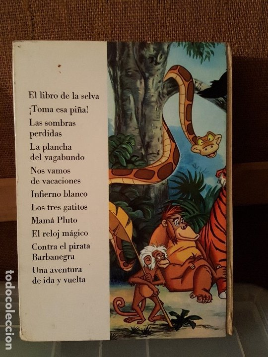 Tebeos: EL LIBRO DE LA SELVA DE WALT DISNEY. TOMO 8 COLECCIÓN JOVIAL 1969 - ERSA - Foto 2 - 182762412