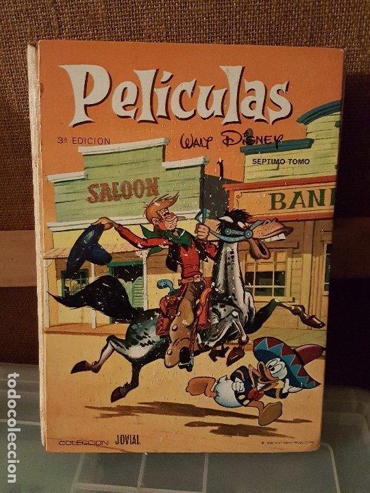 PELICULAS DE WALT DISNEY. TOMO 7 COLECCIÓN JOVIAL 1968 - ERSA (Tebeos y Comics - Ersa)