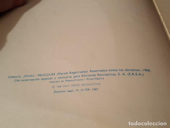 Tebeos: PELICULAS DE WALT DISNEY. TOMO 7 COLECCIÓN JOVIAL 1968 - ERSA - Foto 2 - 182763406