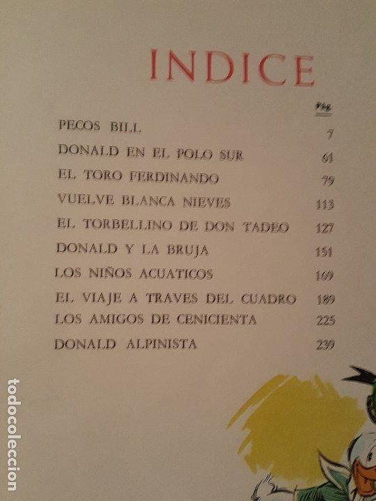 Tebeos: PELICULAS DE WALT DISNEY. TOMO 7 COLECCIÓN JOVIAL 1968 - ERSA - Foto 3 - 182763406