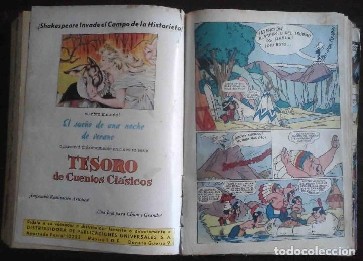 Tebeos: Dumbo 246, 286, Album de vacaciones 1957 1958 Album de Primavera 1956 El halcón de oro, Super Raton. - Foto 9 - 182782811