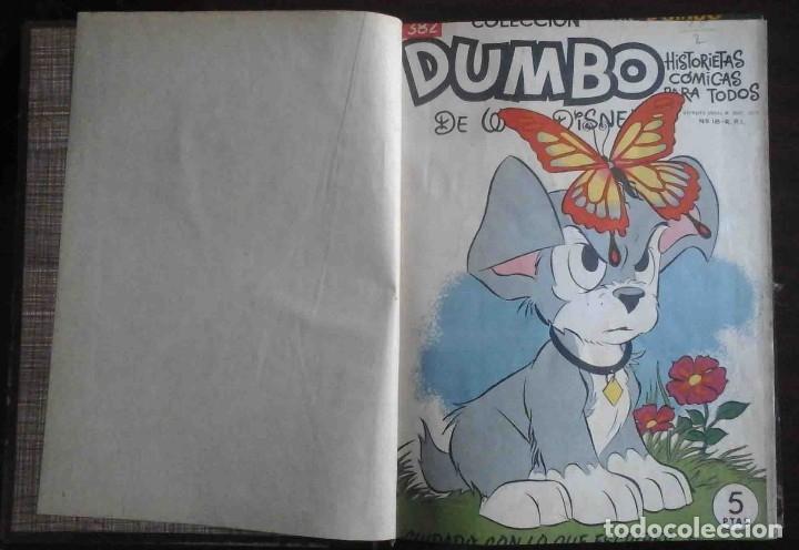 DUMBO Nº 382, ALMANAQUE 1958 Y 1959, VIDAS EJEMPLARES, ALBUM EL PÁJARO LOCO Y CUENTOS CLÁSICOS (Tebeos y Comics - Ersa)