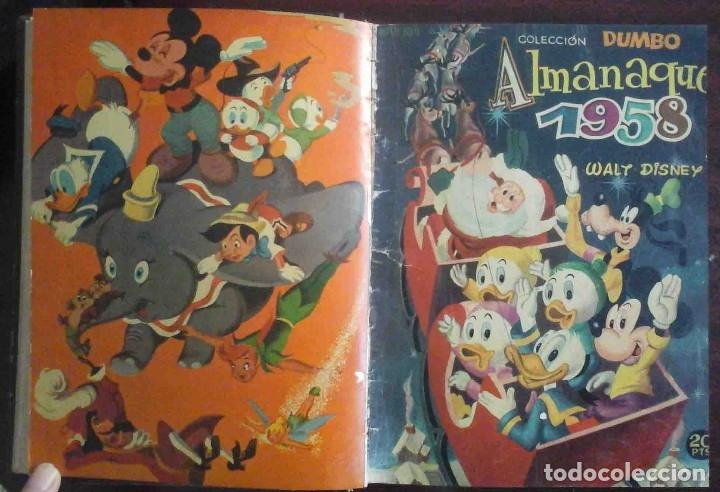 Tebeos: Dumbo Nº 382, Almanaque 1958 y 1959, Vidas ejemplares, Album El Pájaro Loco y Cuentos clásicos - Foto 3 - 182785885