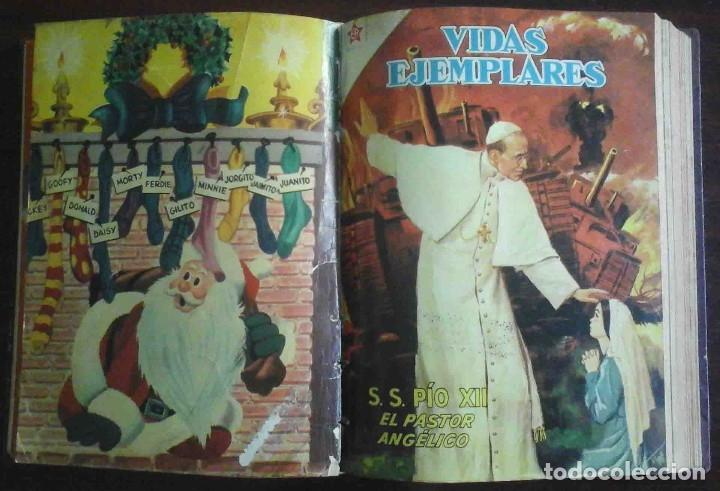 Tebeos: Dumbo Nº 382, Almanaque 1958 y 1959, Vidas ejemplares, Album El Pájaro Loco y Cuentos clásicos - Foto 4 - 182785885