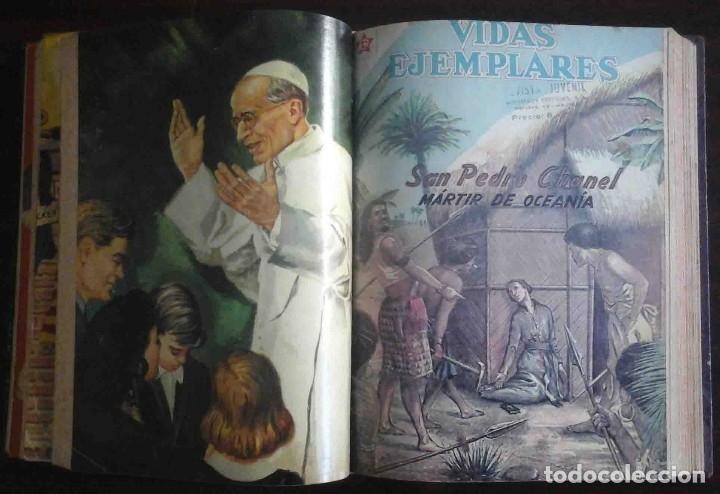 Tebeos: Dumbo Nº 382, Almanaque 1958 y 1959, Vidas ejemplares, Album El Pájaro Loco y Cuentos clásicos - Foto 5 - 182785885