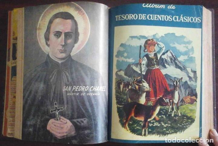 Tebeos: Dumbo Nº 382, Almanaque 1958 y 1959, Vidas ejemplares, Album El Pájaro Loco y Cuentos clásicos - Foto 6 - 182785885