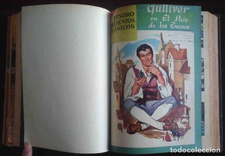 Tebeos: Dumbo Nº 382, Almanaque 1958 y 1959, Vidas ejemplares, Album El Pájaro Loco y Cuentos clásicos - Foto 7 - 182785885