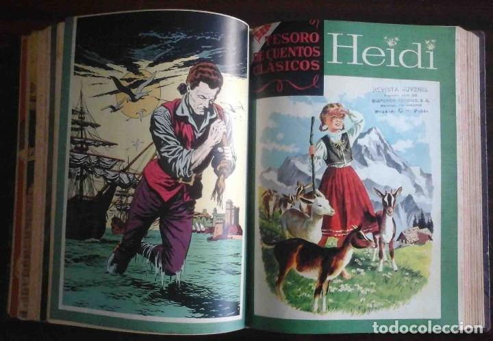 Tebeos: Dumbo Nº 382, Almanaque 1958 y 1959, Vidas ejemplares, Album El Pájaro Loco y Cuentos clásicos - Foto 8 - 182785885