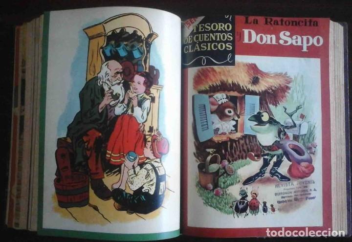 Tebeos: Dumbo Nº 382, Almanaque 1958 y 1959, Vidas ejemplares, Album El Pájaro Loco y Cuentos clásicos - Foto 9 - 182785885