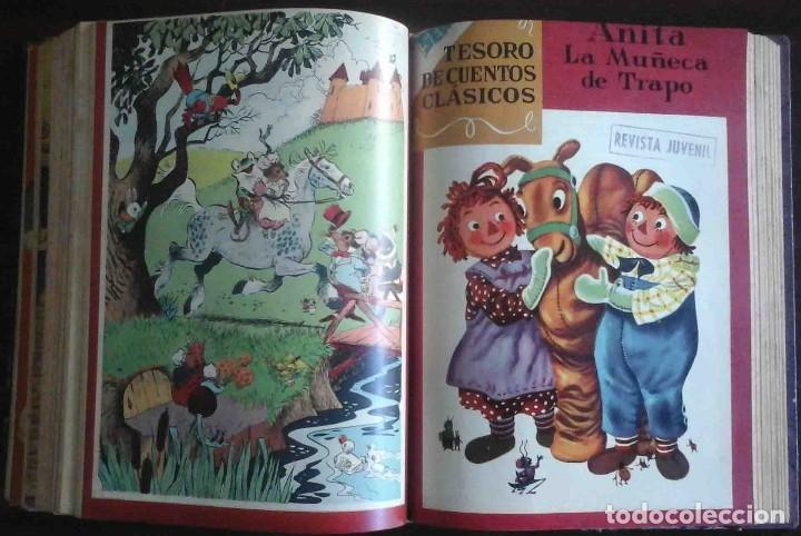 Tebeos: Dumbo Nº 382, Almanaque 1958 y 1959, Vidas ejemplares, Album El Pájaro Loco y Cuentos clásicos - Foto 10 - 182785885
