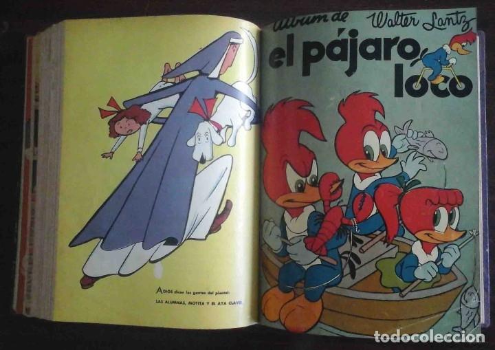 Tebeos: Dumbo Nº 382, Almanaque 1958 y 1959, Vidas ejemplares, Album El Pájaro Loco y Cuentos clásicos - Foto 12 - 182785885