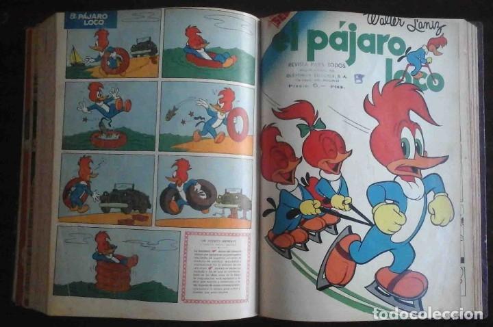 Tebeos: Dumbo Nº 382, Almanaque 1958 y 1959, Vidas ejemplares, Album El Pájaro Loco y Cuentos clásicos - Foto 13 - 182785885