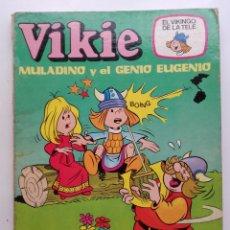 Tebeos: VIKIE EL VIKINGO DE LA TELE - MULADINO Y EL GENIO EUGENIO - ERSA Nº 11. Lote 183354962