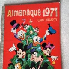 Tebeos: COMIC DUMBO ERSA DISNEY 71 ALMANAQUE 1971 . Lote 183430187